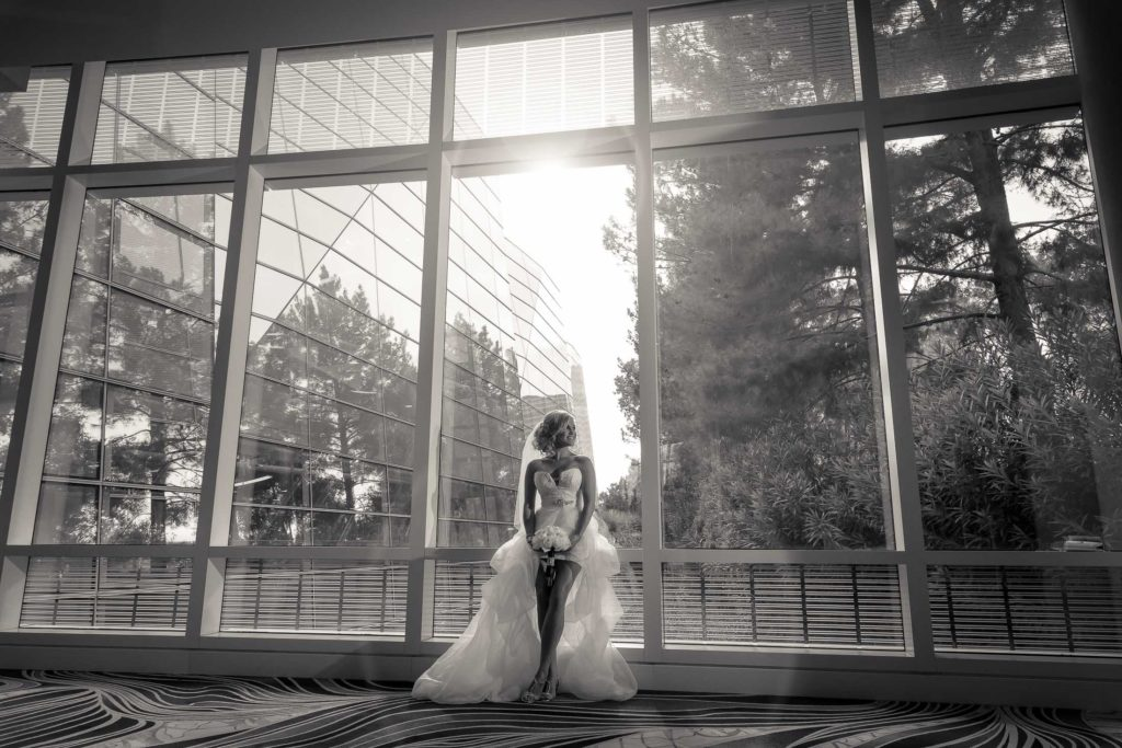 Las Vegas strip wedding photographer | Aria hotel weddings