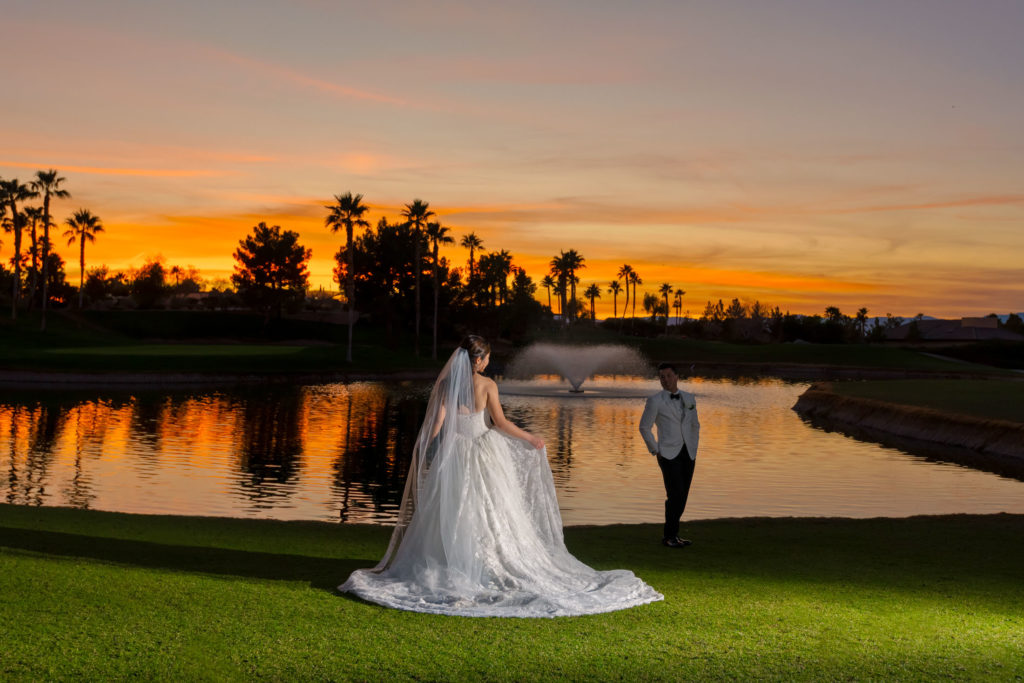 Las Vegas wedding photography | Chimera Golf Club weddings