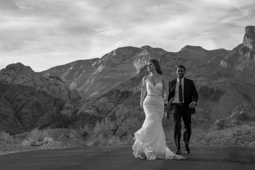 Las Vegas elopement photographer | Desert weddings
