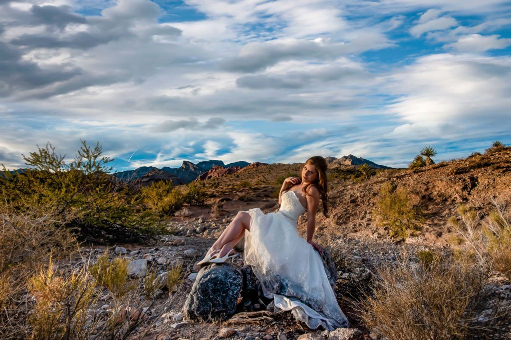Las Vegas elopement photographer | Desert elopement photography | Red Rock Canyon Nevada