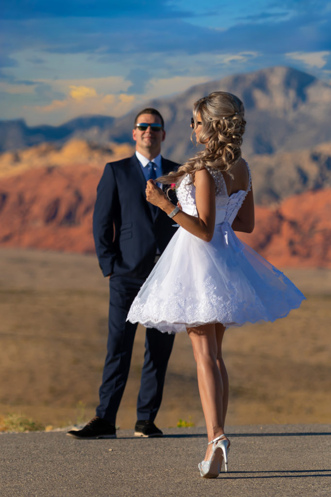 Las Vegas wedding photographer | Desert elopements weddings | Red Rock Canyon