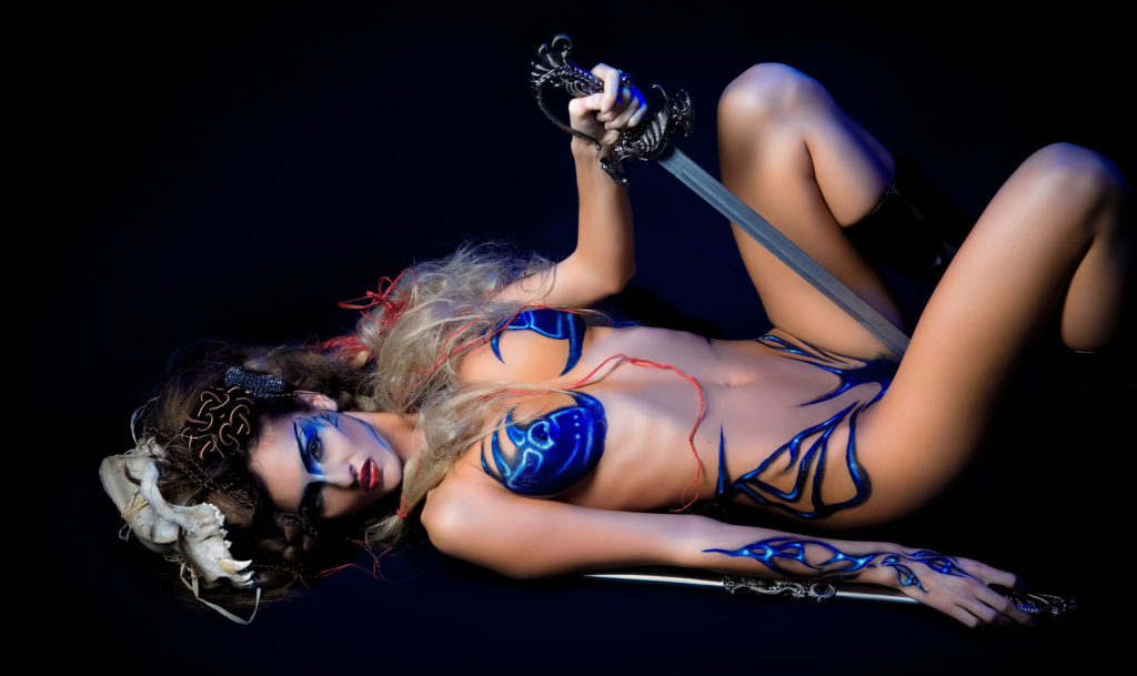 Glamour boudoir photography | Las Vegas sensual photos