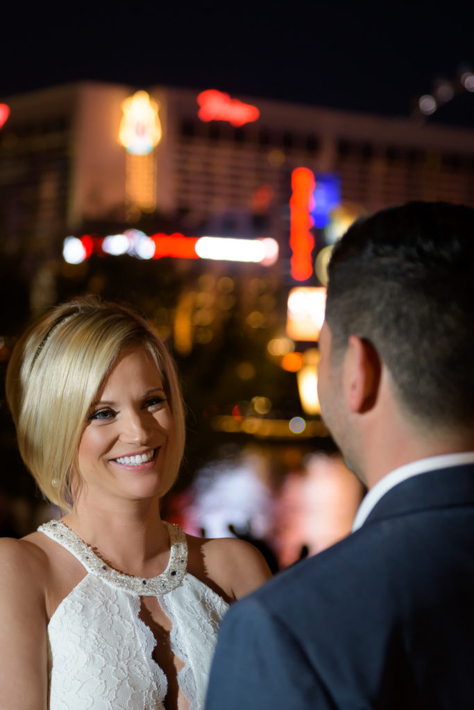 Las Vegas Strip wedding photography | Vegas weddings elopements