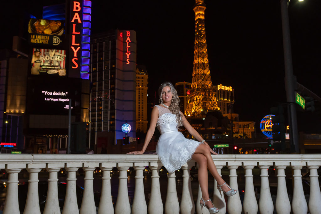 Wedding photographer Las Vegas strip | Vegas weddings | Agi and Szabolcs