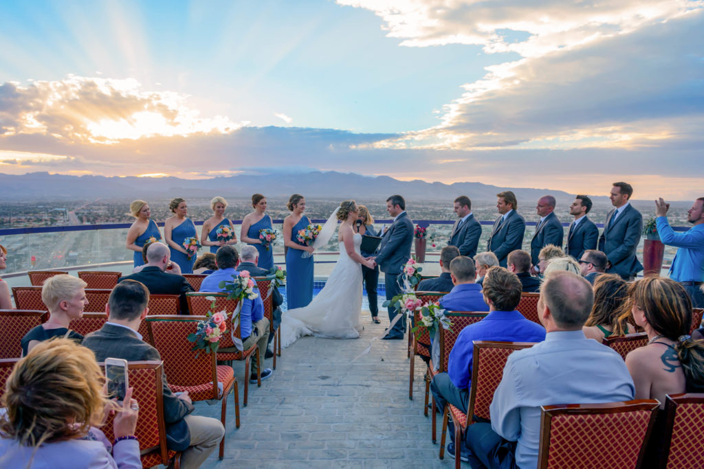 Las Vegas wedding photographer | Las Vegas Strip weddings | Blake and Tamara