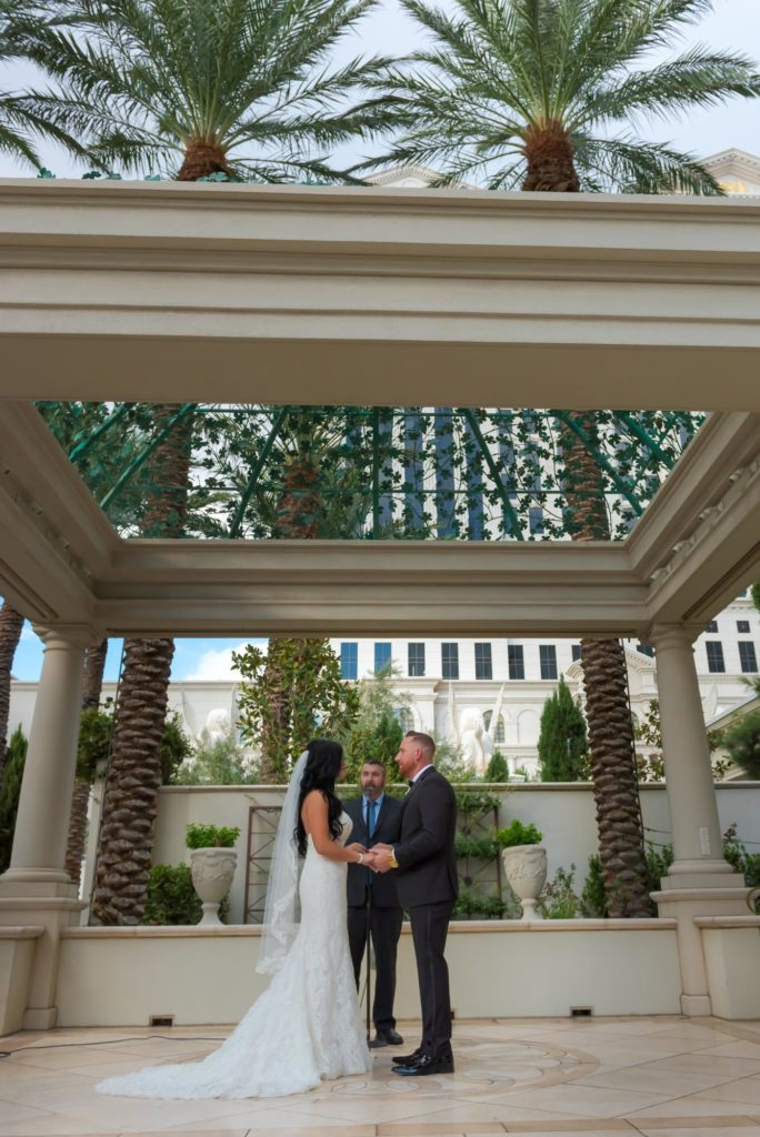 Las Vegas wedding photographers | Caesars Palace weddings | Las Vegas Strip