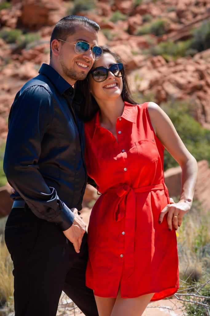 Las Vegas wedding photographer | Red Rock Canyon desert elopements weddings